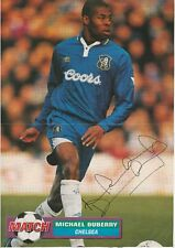 MICHAEL DUBERRY CHELSEA 1993-1999 ORIGINAL HAND SIGNED MAGAZINE CUTTING