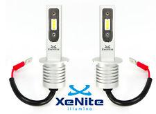 H1 12V-24V LED 2XLAMPADE CANBUS AUTO-MOTO-CAMION OMOLOGATO XENON 6500K + T10 TOP