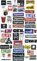 Supreme Classic Box Logo 54 X Skateboard Stickers Car Vinyl Decal Laptop Sticker