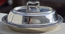 ANTIQUE BARBOUR NICKEL SILVER SILVERPLATE 4511 TUREEN LIDDED BOWL ART DECO RARE
