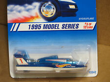 Hot Wheels 1995 Model Series Hydroplane Blue #6 & White New In Box