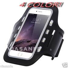 """Fascia Da Braccio Led Per iPhone 6 4,7"""" Galaxy Cataringrangente Corsa 4 Colori"""