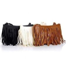 Retro Women Girl Fringe Tassel Shoulder Messenger Small Bag