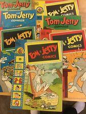 Tom & Jerry Comics, 1950-52, 7 issues