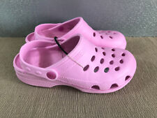 BNWT Ladies Older Girls Sz 6 Rivers Doghouse  Fairy Floss pink Clog Beach Shoes