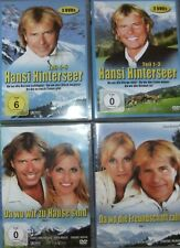 DVD Hansi Hinterseer Komplette Serie + 28 CD Heimatfilm Teil 1 2 3 4 5 6 7 8