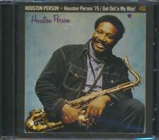 SEALED NEW CD Houston Person - Houston Person '75 + Get Out' A My Way!