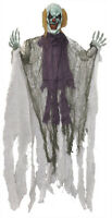 Hanging Devil Clown 36 Inches Halloween Prop Skeleton Haunted House Decoration
