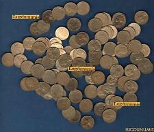 Vème République, 1959- -G Lot de 100 pièces de 5 Centimes Marianne TB à SUP (POR