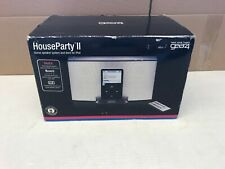 GEAR 4 HOUSEPARTY 2 IPOD SPEAKER DOCK BOXED WITH REMOTE