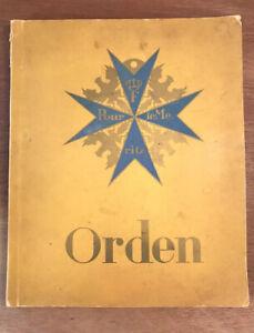 Orden - Imperial WW1 German Medal & Order Cigarette Card Album