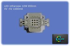 led10w infrarosso 850nm IR LED per visione notturna torcia fotocamerainfrarossi