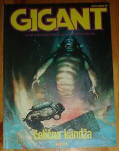 Frazetta / Gigant #32 / Yugoslavia 1987 / Steel Claw