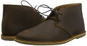 Clarks Mens Beeswax Leather Chukka Boots Size UK 7/41 G