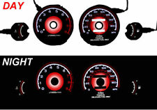 USA Red Glow 95-99 Mitsubishi Eclipse Non-Turbo 9000 RPM Gauge Face Overlay New