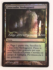 CATACOMBE VERDEGGIANTI - VERDANT CATACOMB ENG foil  - MTG MAGIC