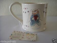 """New Gnomy's Diaries by Annekabouke Angel of the Month """"February"""" Lg Coffee Mug!"""