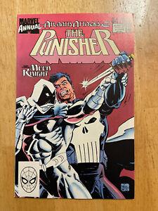 Punisher Annual #2 early Moon Knight vs. Punisher Marvel Comics 1989 Disney+ MCU