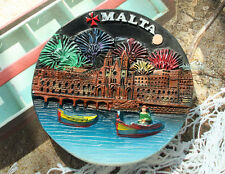 Malta Kirche, Reiseandenken Souvenir 3D Polyresin Kühlschrank Magnet
