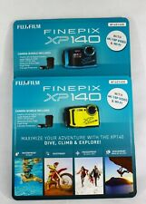 FUJIFILM FinePix XP140 Digital Camera 7 Piece Bundle Brand New Blue or Yellow