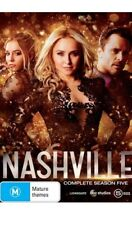 NASHVILLE Season 5 : (2018, 5 DVD Set) Brand New Sealed Region 4