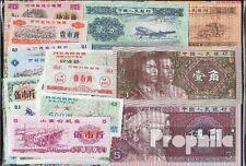 Geldscheine VR China 25 nur verschiedene Banknoten