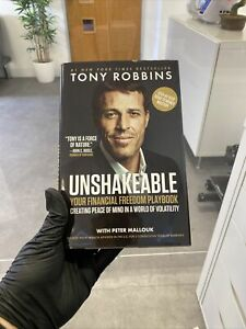 Unshakeable: Your Financial Freedom Playbook by Tony Robbins (Hardback, 2017)