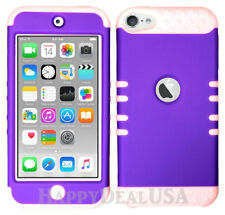 For Apple iPod Touch iTouch 5|6 KoolKase Hybrid Silicone Cover Case PURPLE (FL)