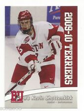 2009-10 Boston University Terriers Kevin Shattenkirk (New York Rangers)