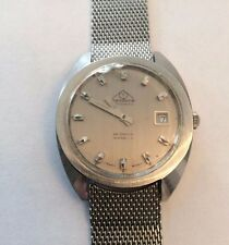 Mondaine 25 Jewel Swiss Automatic Watch - For Parts or Repair
