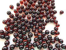 Barock Naturbernstein gebohrt auffädeln lose Perlen 33 Perlen (ca 3 gr)