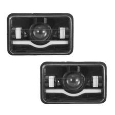 "Pair 4x6"" Rectangular LED Headlights DRL For GMC TopKick C4500 C5500 Truck"