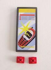 PLAYMOBIL (R5213) La POSTE - Affiche Pancarte Vente Téléphones Bureau 4400