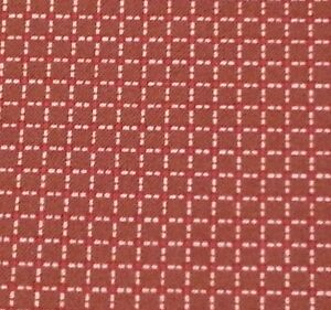 Our Part For Heart by Karen Neuburger Quilting Treasures Brown Red Small Plaid