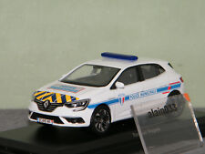 RENAULT MEGANE 2016 Police Municipale Yellow & Blue NOREV 1/43 Ref 517724