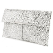 Envelope Clutch with Adjustable Chain Crossbody Shoulder Bag for Wedding Party