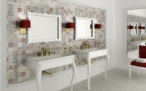 FASHION  12 x 12 Spanish glass mosaic tile for Backsplash or shower