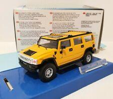 CARARAMA 1/43 Hummer H2 Jaune / Yellow