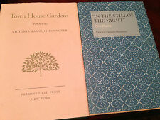 Victoria Parsons Pennoyer, 2 poetry books signed, Cole Porter