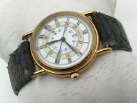 Movado Ladies Watch Vintage Swiss Wrist Watch 87-47-825 Gold Tone Case Authentic