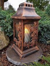 Grablaterne+LED Kerze + Sockel Grablampe Lampe Grableuchte Grablicht Teelicht