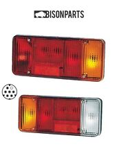 +IVECO EUROCARGO & DAILY TIPPER SINGLE DIN PLUG REAR LAMPS LH & RH BP90-010/011