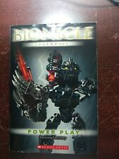 Power Play [Bionicle Legends #3]  Farshtey, Greg  Paperback mediocre condition