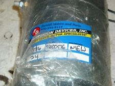 new in wrapper 24 volt hydraulic pump motor Hyster Yale Crown Raymond & others