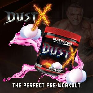 DUST X PRE WORK OUT 25 SERVES COTTON CANDY BLACKSTONE LABS