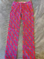 """Lilly Pulitzer """"Hold Your Horses"""" Seahorse Worth Straight Leg Jeans  Sz 2"""