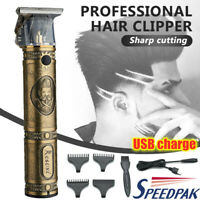 Professional Hair Clippers Mens Basic Barber Set Trimmers Shaver Cutting Machine