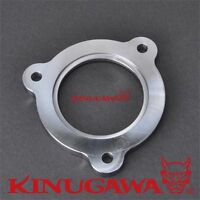 """Turbine outlet flange Angle type 7 cm VOLVO 850 S70 TD04HL to connect 3"""" pipe"""