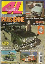 4L MAGAZINE 3 RENAULT 4 SUPER R4 PARISIENNE R4L EXPORT ACCESSOIRISEE R4 FOURGO