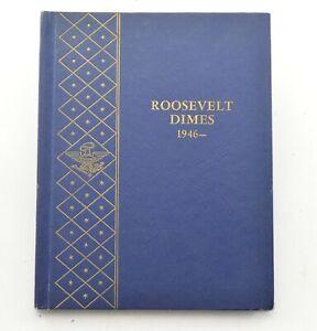 48 1946-1965 Roosevelt Dime Collection Album Set *772